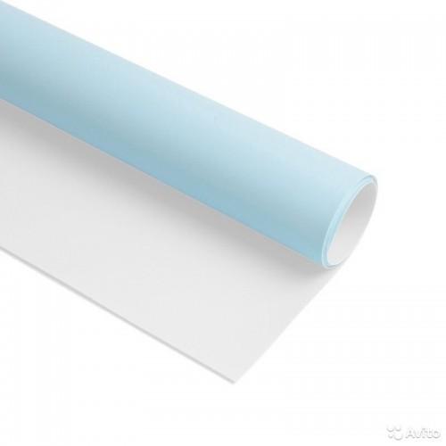 Безбликовый фотофон бело-голубой