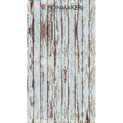 Фотофон Древесный Камилло для фотосъемки Белые доски