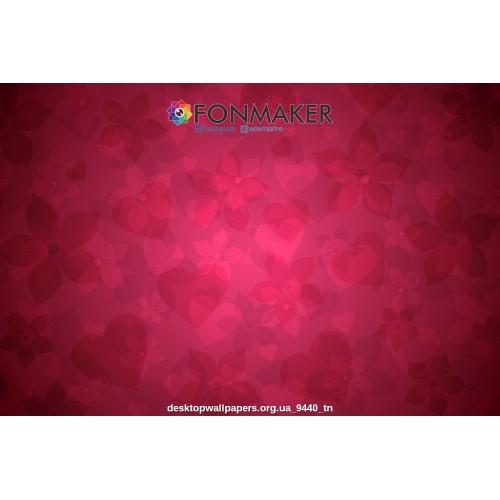 Фотофон Американская Роза для фотосъемки Абстрактные рисунки