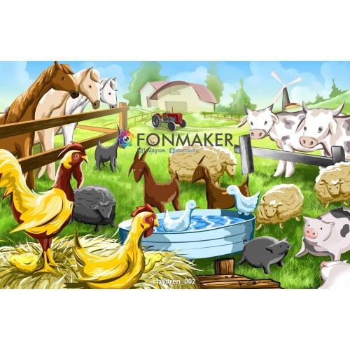 Фотофон Царство  для фотосъемки FONMAKER