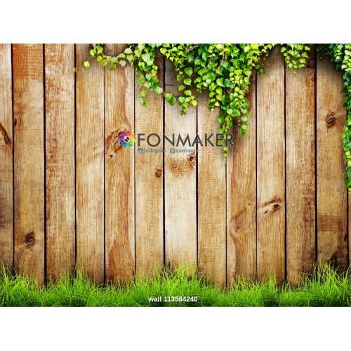 Фотофон деревянный забор для фотосъемки сюжетный Flatlay