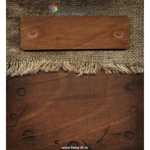 Фотофон древесина для фотосъемки сюжетный Flatlay