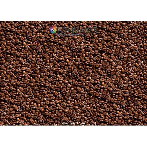 Фотофон зерновой кофе для фотосъемки в Инстаграм комплект 1 1
