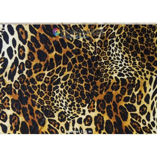Фотофон леопард для фотосъемки в Инстаграм комплект 1 25