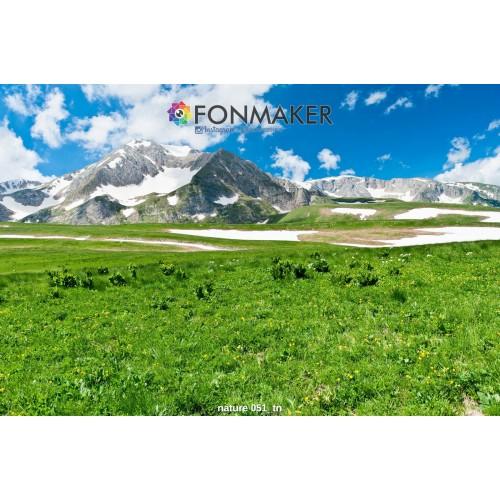 Фотофон Альпийские Луга для фотосъемки FONMAKER