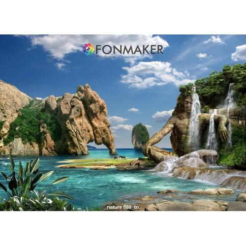 Фотофон Ангкор-Ват для фотосъемки FONMAKER
