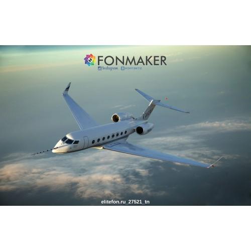 Фотофон Авиалайнер для фотосъемки FONMAKER