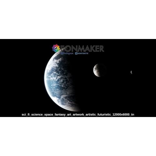 Фотофон лунная фаза для фотосъемки FONMAKER