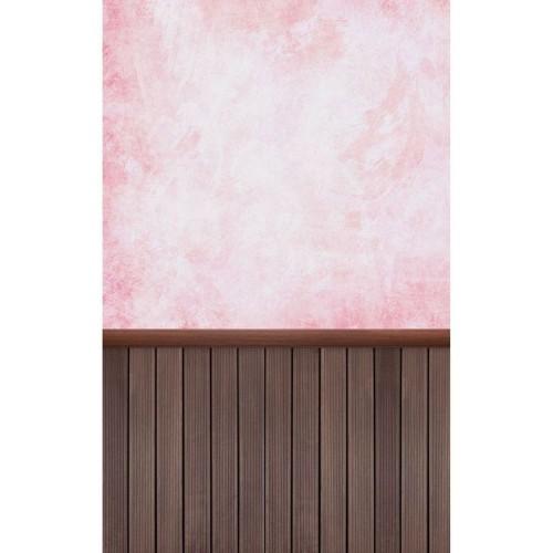 "Фотофон Стена Пол ""Розовый туман"""