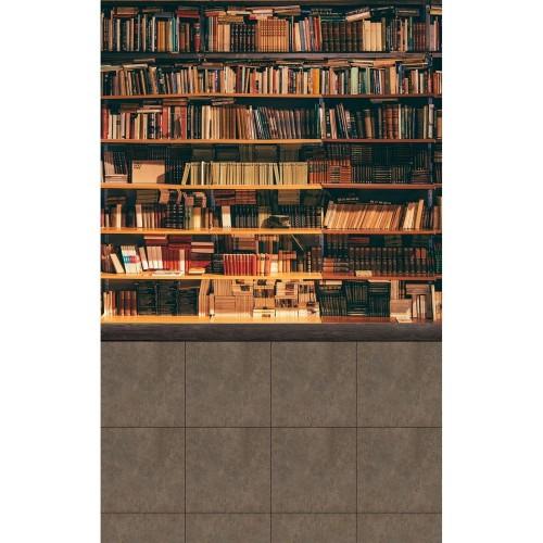 """Фотофон Стена Пол """"Библиотека"""""""