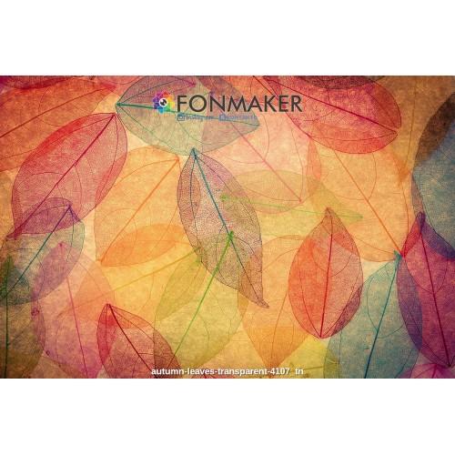 Фотофон для фотосъемки FONMAKER Листья F00005