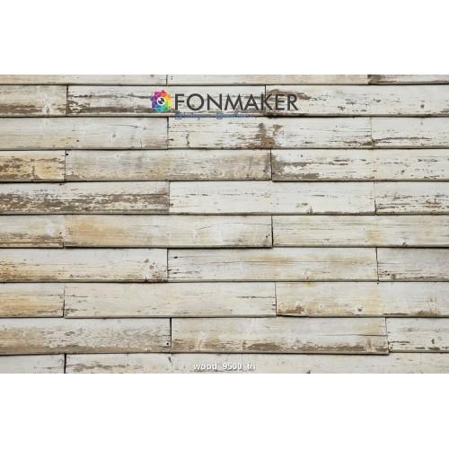 Фотофон Белая древесная текстура для фотосъемки FONMAKER
