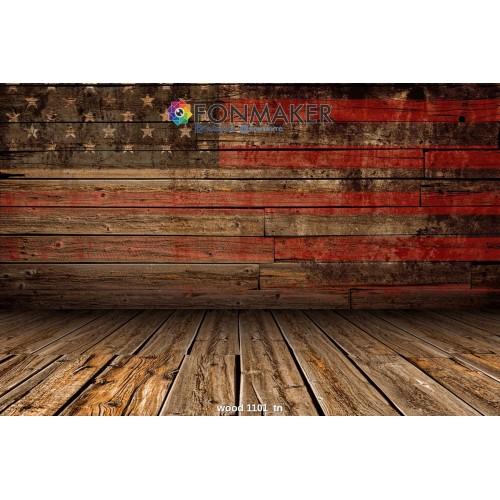 Фотофон Древесный в Американском стиле для фотосъемки FONMAKER