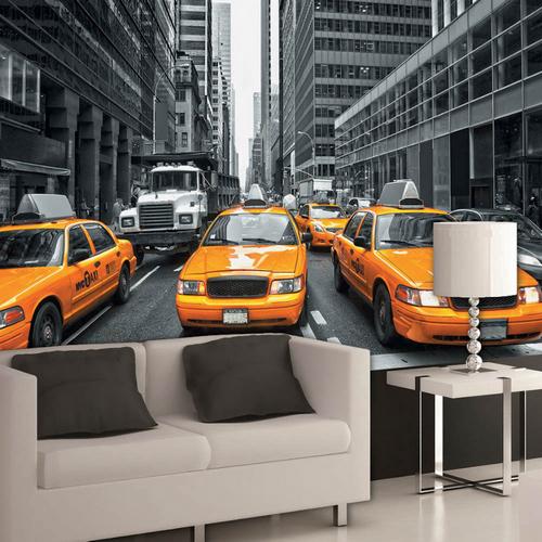 Фотообои Такси Нью-Йорка Антимаркер 5-a-503