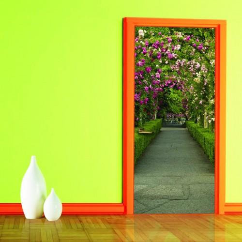 Фотообои Ботанический Сад на дверь Антимаркер Door's c-027