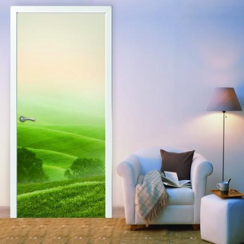 Фотообои Гармония на дверь Антимаркер Door's c-042
