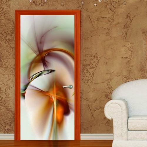 Фотообои Абстракция на дверь Антимаркер Door's c-045