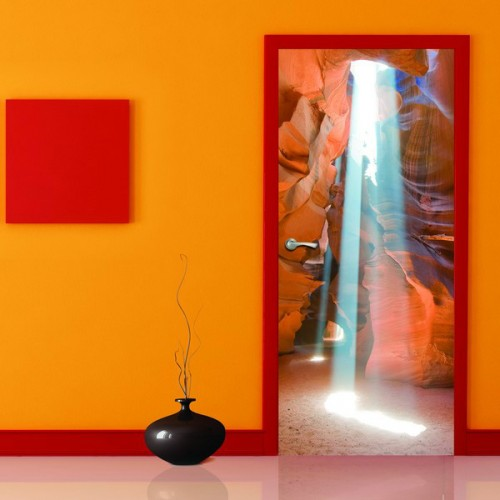 Фотообои Свет на дверь Антимаркер Door's c-048