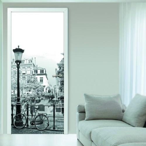 Фотообои Французская Эстетика на дверь Антимаркер Door's c-066