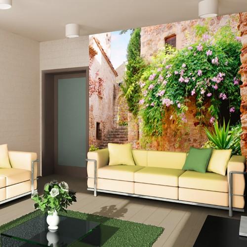 CityArt Испанский дворик, СА3023, 300х270 см