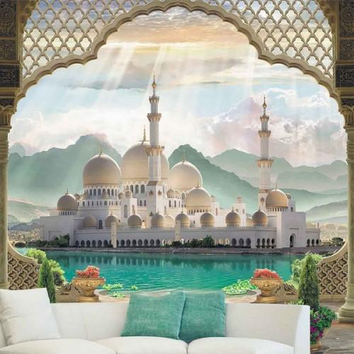 Фотообои Мечеть у озера Color К-015