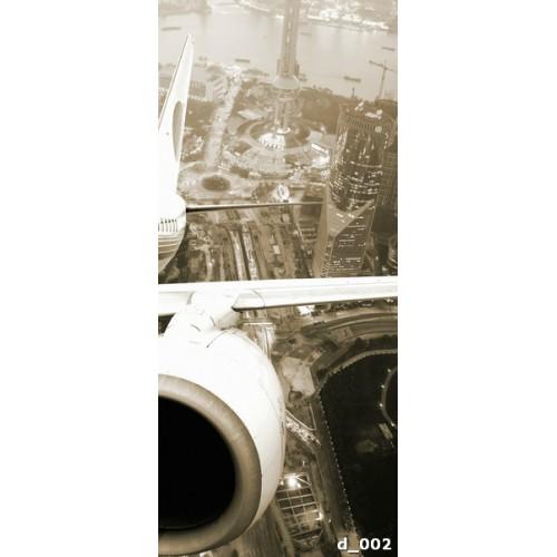 Фотообои вид из самолета Doorfix d-002