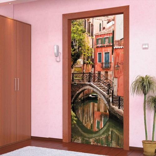 Фотообои венецианский канал Doorfix d-024