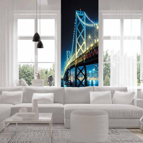 CityArt Ночной мост, CA0112, 100х270 см