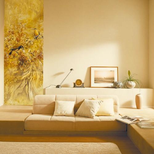 CityArt Райская птичка желтая, CA0129, 100х270 см