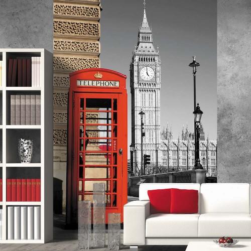 Обои Milan (Красная будка), M 207, 200х270 см