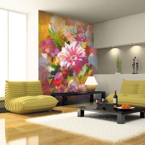 Обои Milan (Цветы маслом), M 209, 200х270 см
