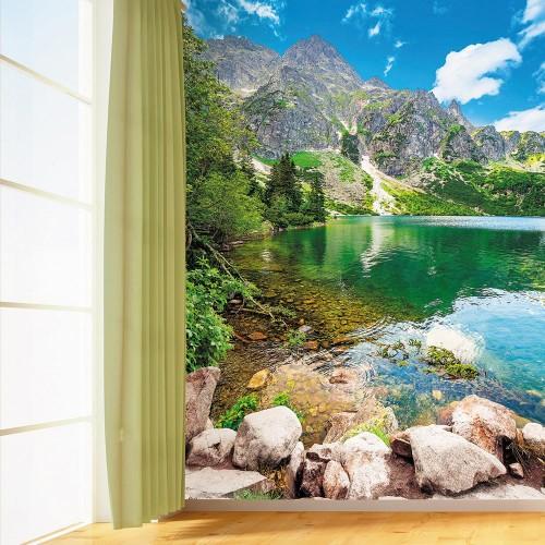 Фотообои Novita, N218, Горное озеро, 200х270 см