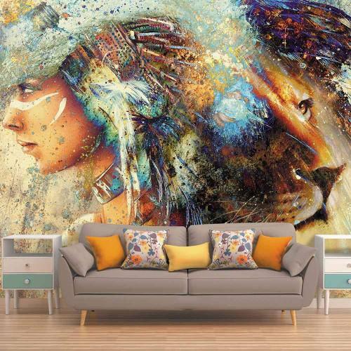 CityArt Женщина-лев, CA0403, 400х270 см