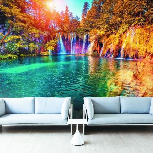 Обои Milan (Лазурный водопад), M 408, 400х270 см