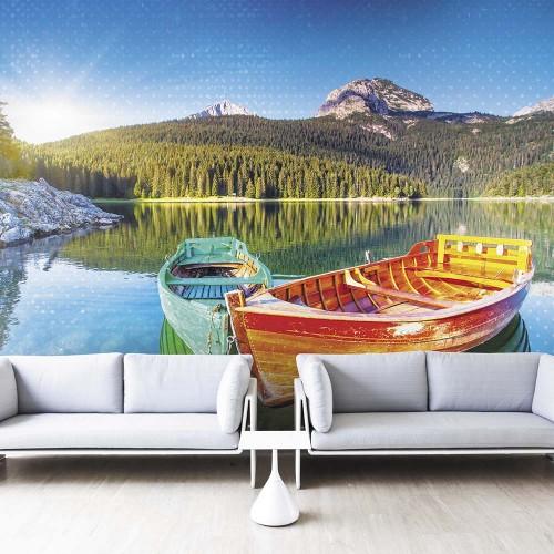Обои Milan (Романтичные лодки), M 410, 400х270 см