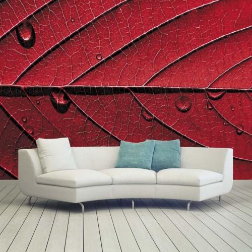 Обои Milan (Красный лист), M 413, 400х270 см