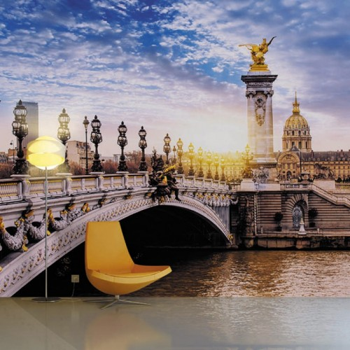 Обои Milan (Александровский мост мира в Париже), M 497, 400х270 см