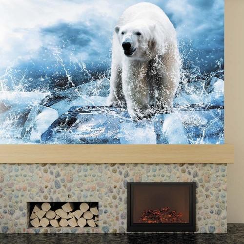 Обои Milan (Медведь во льдах), M 606, 200х135 см
