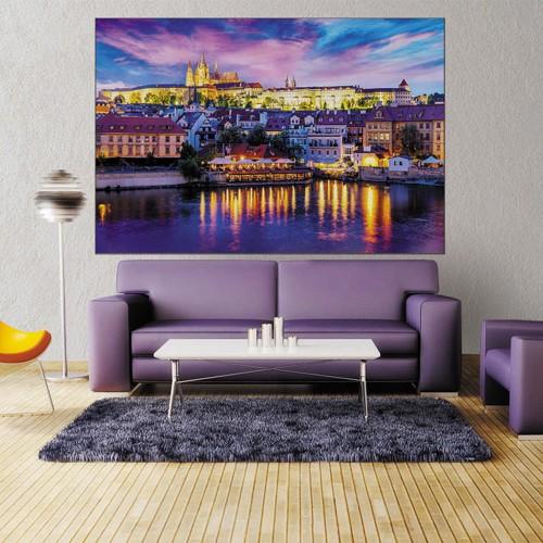 CityArt Огни Праги, CA0664, 200х135 см