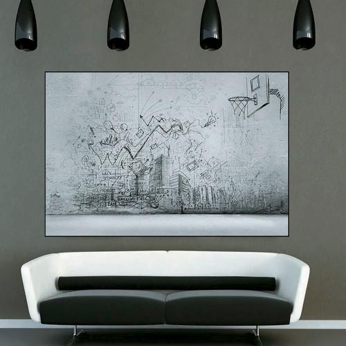 CityArt Мужской лофт, CA0694-50, 200х135 см