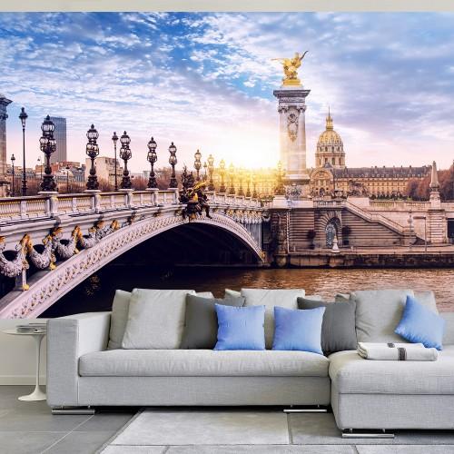 Обои Milan (Александровский мост мира в Париже), M 797, 300х200 см