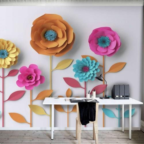 CityArt 3D Невероятные цветы, CA4003, 400х270 см