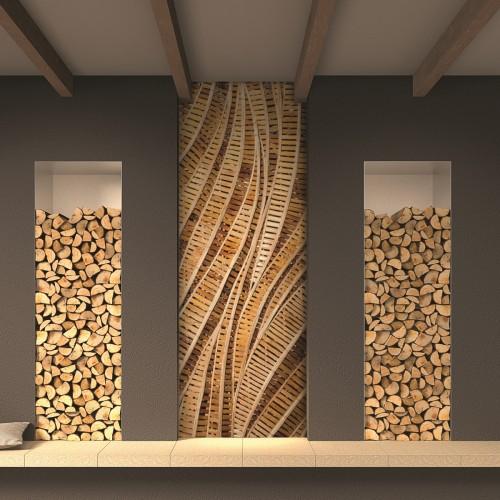 Обои Milan (Деревянный декор), М 157, 100x270 см