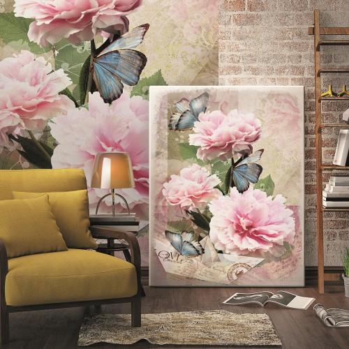 Обои Milan (Цветы и бабочки), M 293, 200x270 см