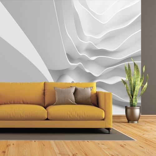 Обои Milan (3D Белые дюны) M 3157, 300x270 см