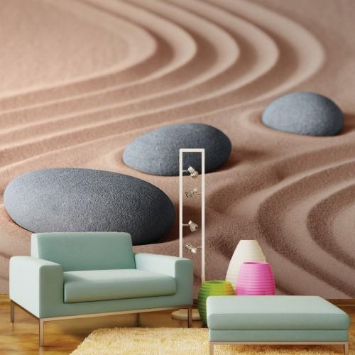 Обои Milan (3D Камни на песке), M 3158, 300x270 см