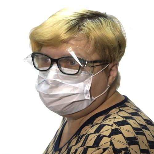 Защитная маска-защитные очки бытовые