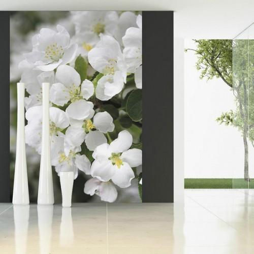 Фотообои Белые цветы Versal v-202