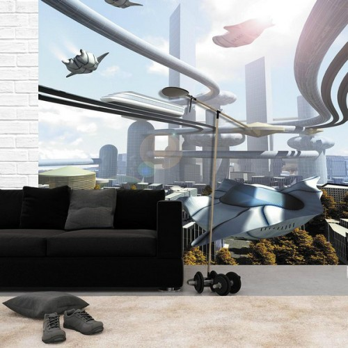 Флизелиновые фотообои Будущее Versal v-310