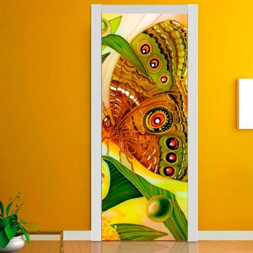 Фотообои бабочка Wallfix w-104